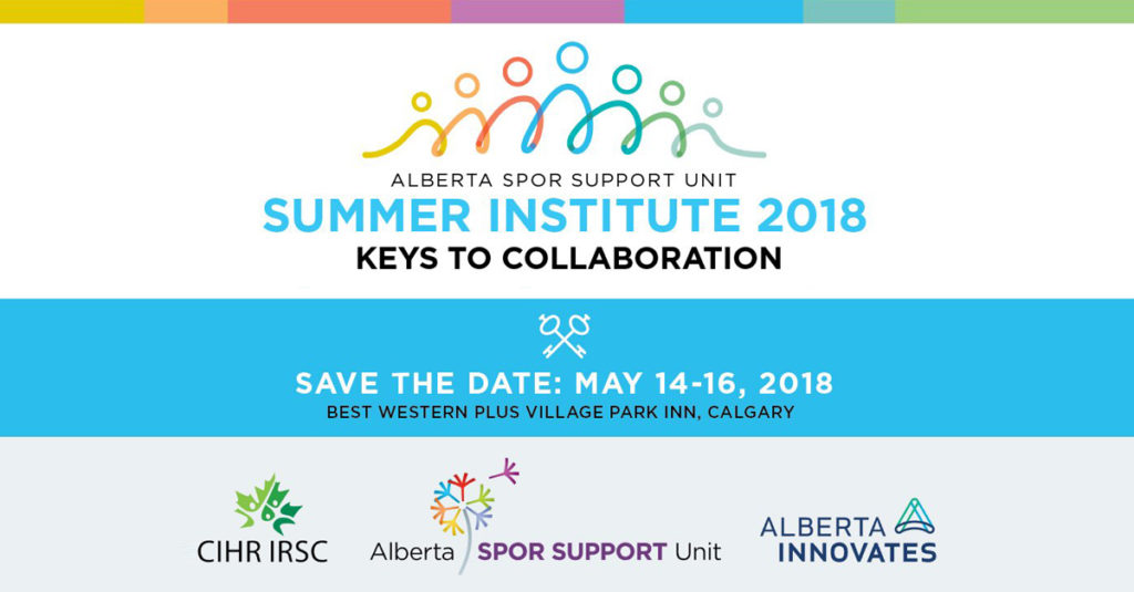 Summer Institute 2018 Save the Date: May 14-16 2018